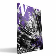 "Northwestern Wildcats 16"" x 24"" Spirit Canvas Print"
