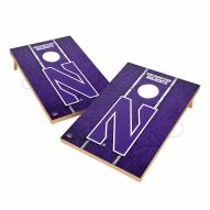 Northwestern Wildcats 2' x 3' Vintage Wood Cornhole Game