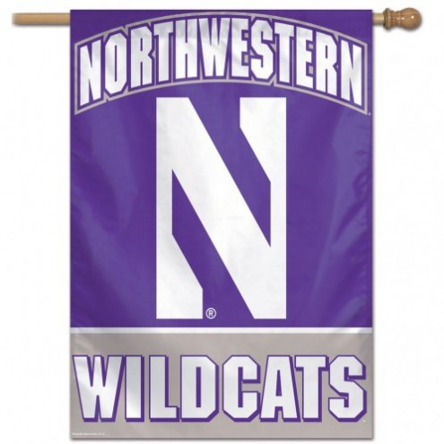 "Northwestern Wildcats 27"" x 37"" Banner"