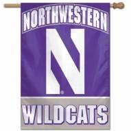 """Northwestern Wildcats 27"""" x 37"""" Banner"""