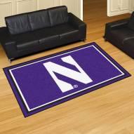 Northwestern Wildcats 5' x 8' Area Rug