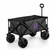 Northwestern Wildcats Adventure Wagon with All-Terrain Wheels