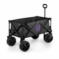 Northwestern Wildcats Adventure Wagon with All-Terrain Wheels