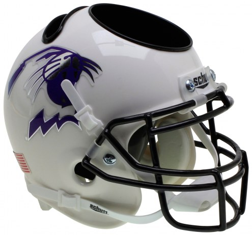 Northwestern Wildcats Alternate 5 Schutt Football Helmet Desk Caddy
