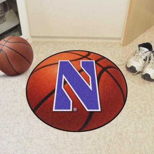 Northwestern Wildcats Basketball Mat