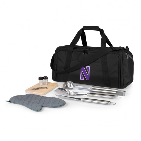 Northwestern Wildcats BBQ Kit Cooler