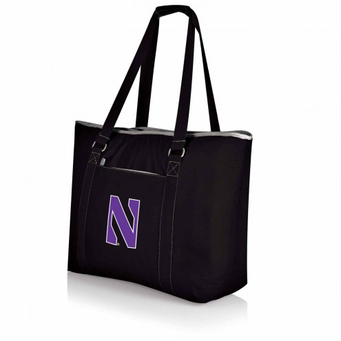 Northwestern Wildcats Black Tahoe Beach Bag