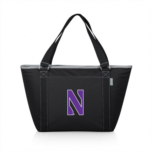 Northwestern Wildcats Black Topanga Cooler Tote
