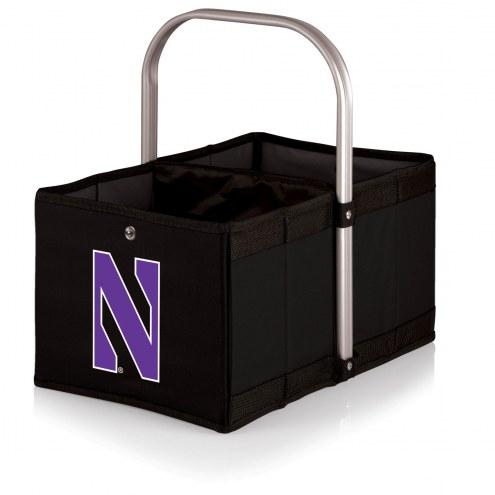 Northwestern Wildcats Black Urban Picnic Basket