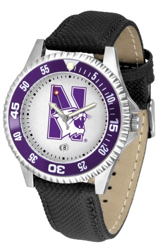 Northwestern Wildcats Competitor Men's Watch