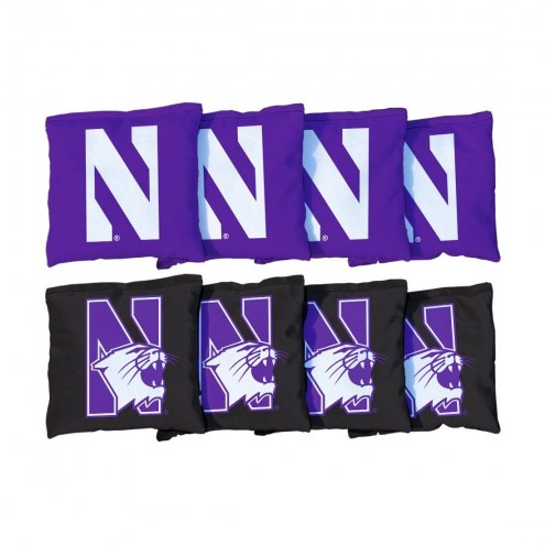 Northwestern Wildcats Cornhole Bag Set