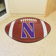 Northwestern Wildcats Football Floor Mat