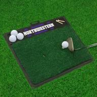 Northwestern Wildcats Golf Hitting Mat