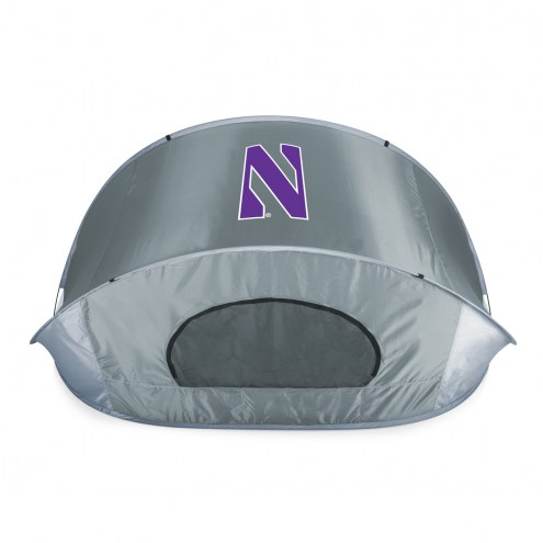 Northwestern Wildcats Gray Manta Sun Shelter