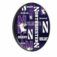 Northwestern Wildcats Digitally Printed Wood Sign