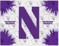 Northwestern Wildcats Logo Canvas Print