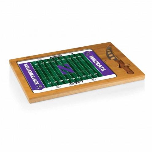 Northwestern Wildcats Icon Cutting Board