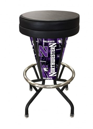 Northwestern Wildcats Indoor/Outdoor Lighted Bar Stool