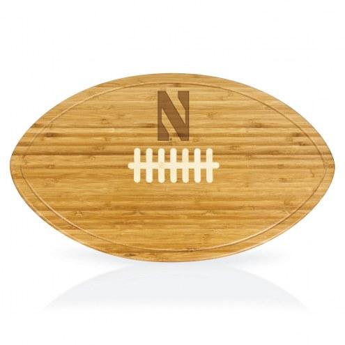 Northwestern Wildcats Kickoff Cutting Board