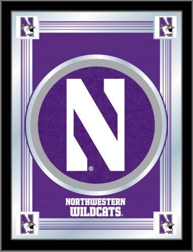 Northwestern Wildcats Logo Mirror