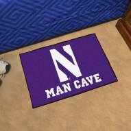 Northwestern Wildcats Man Cave Starter Mat