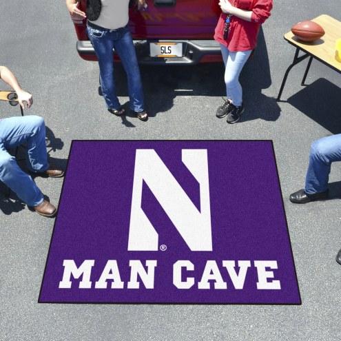 Northwestern Wildcats Man Cave Tailgate Mat