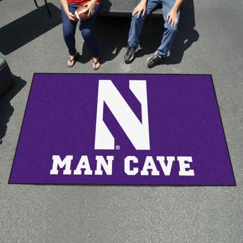 Northwestern Wildcats Man Cave Ulti-Mat Rug