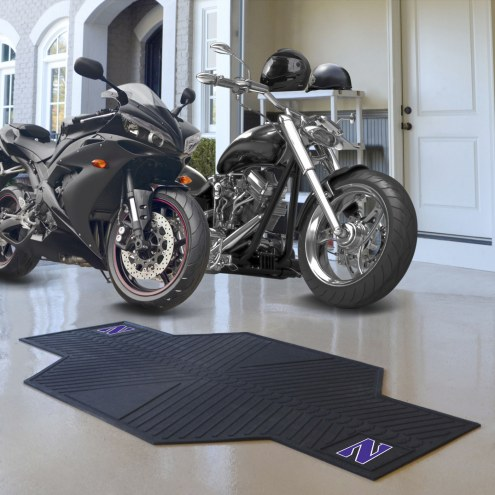 Northwestern Wildcats Motorcycle Mat