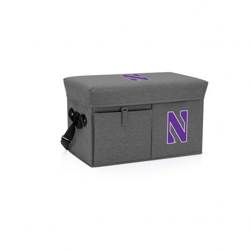 Northwestern Wildcats Ottoman Cooler & Seat