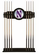 Northwestern Wildcats Pool Cue Rack