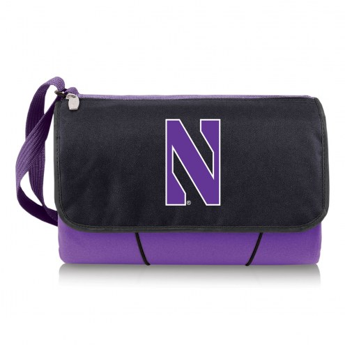 Northwestern Wildcats Purple Blanket Tote