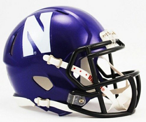 Northwestern Wildcats Riddell Speed Mini Collectible Football Helmet