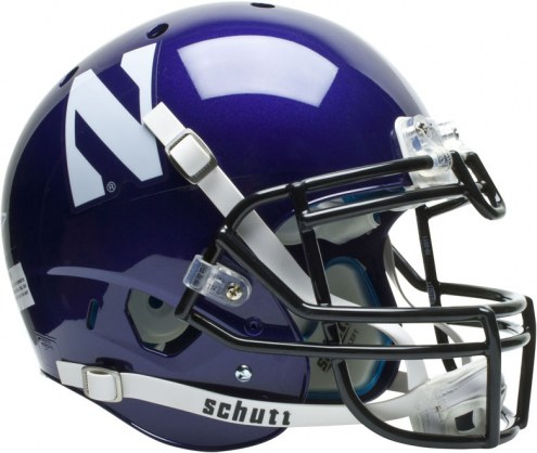 Northwestern Wildcats Schutt XP Authentic Full Size Football Helmet