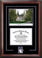 Northwestern Wildcats Spirit Diploma Frame with Campus Image