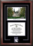 Northwestern Wildcats Spirit Diploma Frame with Campus Image