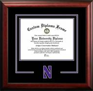 Northwestern Wildcats Spirit Diploma Frame