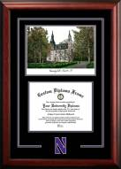 Northwestern Wildcats Spirit Graduate Diploma Frame