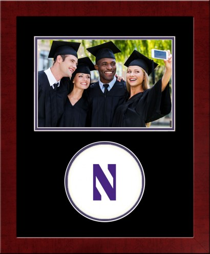 Northwestern Wildcats Spirit Horizontal Photo Frame