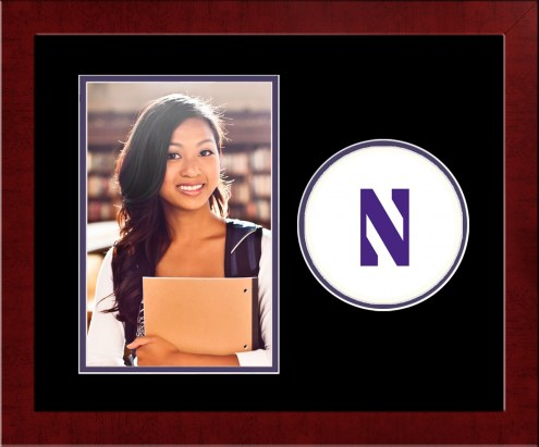 Northwestern Wildcats Spirit Vertical Photo Frame