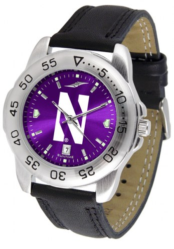 Northwestern Wildcats Sport AnoChrome Men's Watch