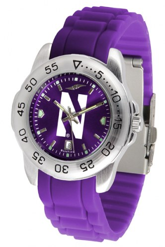 Northwestern Wildcats Sport Silicone Men's Watch