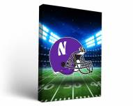 Northwestern Wildcats Stadium Canvas Wall Art