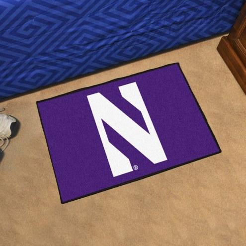 Northwestern Wildcats Starter Rug