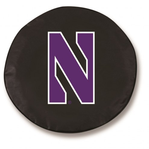 Northwestern Wildcats Tire Cover