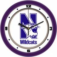 Northwestern Wildcats Traditional Wall Clock