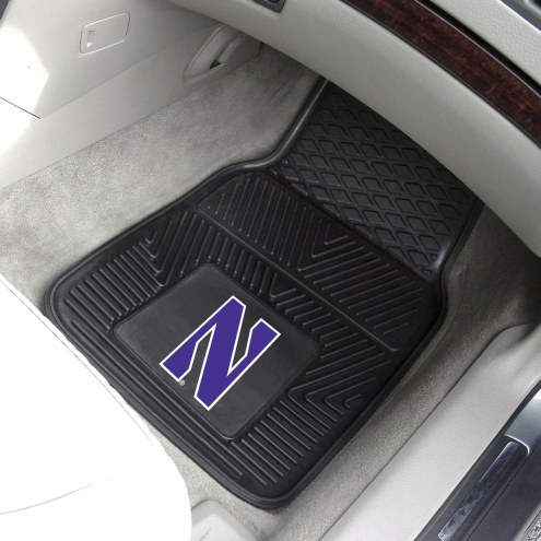 Northwestern Wildcats Vinyl 2-Piece Car Floor Mats