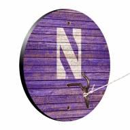 Northwestern Wildcats Weathered Design Hook & Ring Game