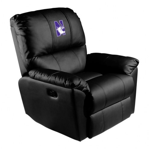 Northwestern Wildcats XZipit Rocker Recliner