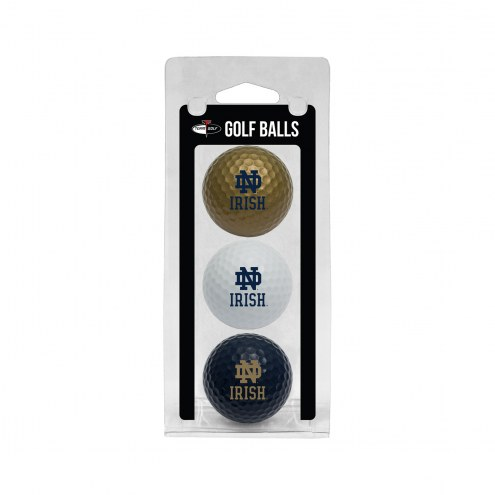 Notre Dame Fighting Irish 3 Pack of Golf Balls