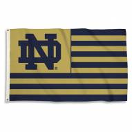 Notre Dame Fighting Irish 3' x 5' Stripes Flag